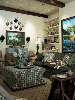 美式风格家居客厅软装设计