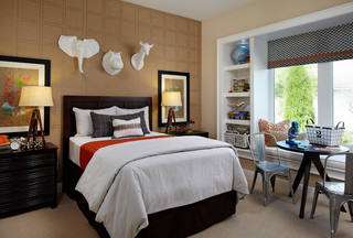 摩登现代时尚卧室设计