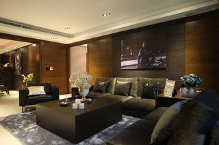 摩登后现代客厅沙发背景墙欣赏