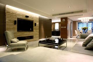 时尚现代82平二居装修效果图