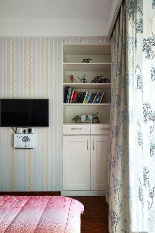 宜家风格卧室布艺窗帘装饰