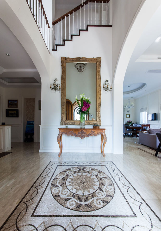 美式风格别墅过道装饰