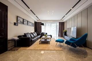 高档现代美式客厅案例欣赏
