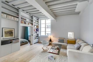 簡約宜家小戶型一居室裝修設計