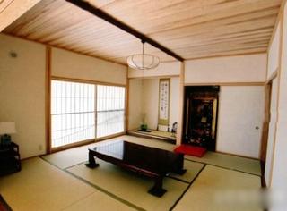舒适自然日式公寓效果图