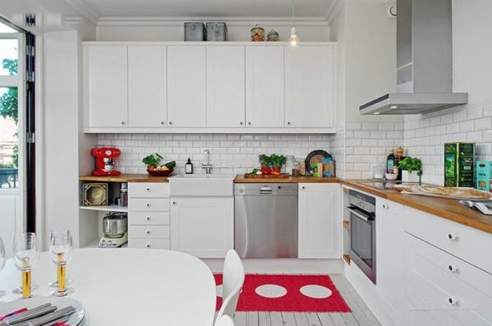 清新北欧风情厨房装饰大全
