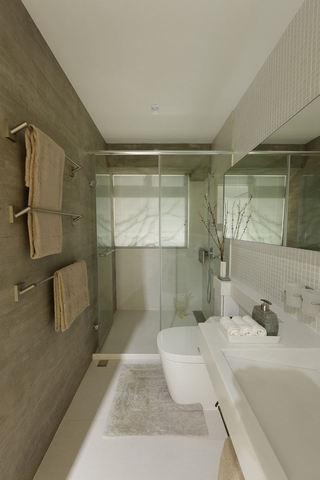 简约家居卫生间干湿分离设计