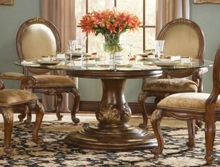 精致美式风格 餐厅桌椅装饰图