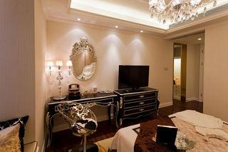 新古典風格臥室家具配置圖