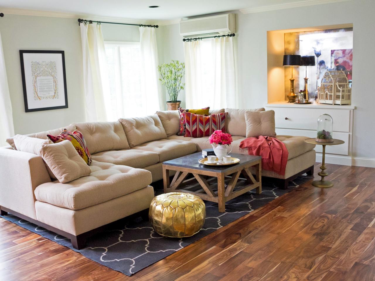 休闲美式客厅 布艺沙发效果图