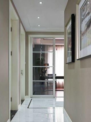 时尚现代家居玻璃门隔断设计