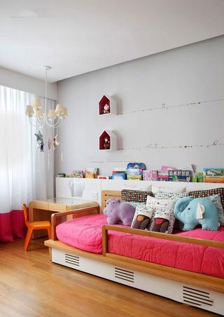 混搭风格儿童房设计装修图