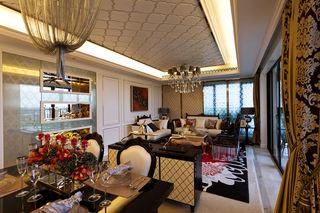 雅致新古典公寓室内装饰图