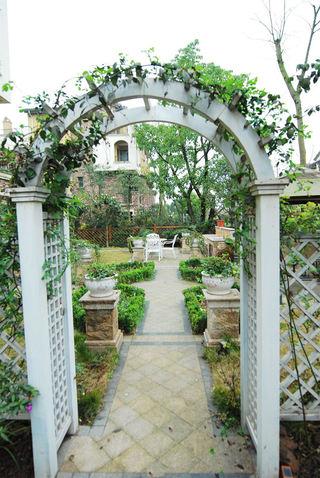 美式田园风别墅庭院设计