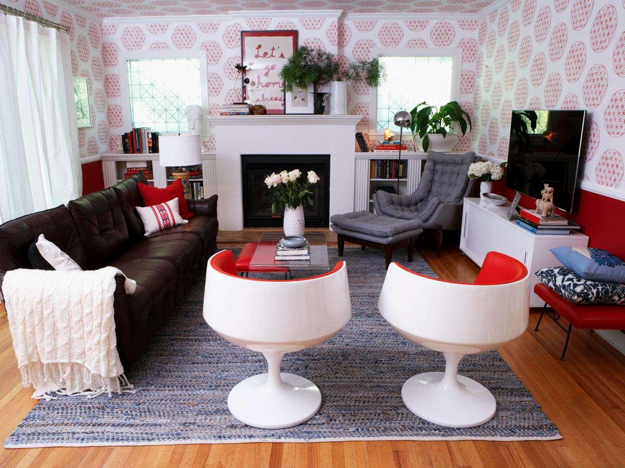 温馨现代客厅效果图