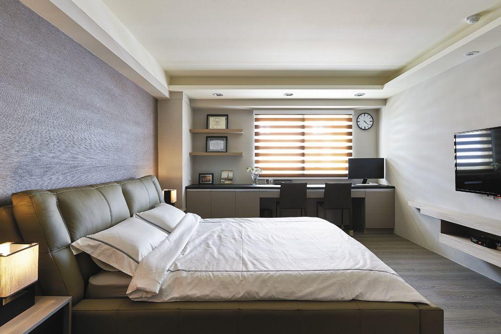 休闲现代风卧室装饰大全