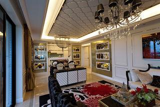 新古典风格145平公寓装修设计