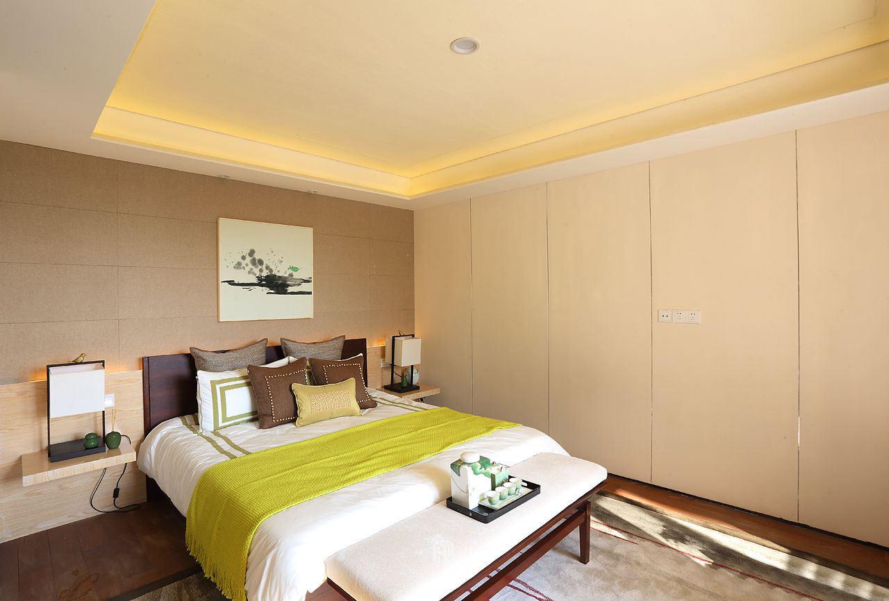 温馨简约东南亚风情 卧室效果图