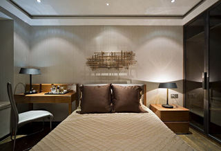 最新现代卧室软装装饰图
