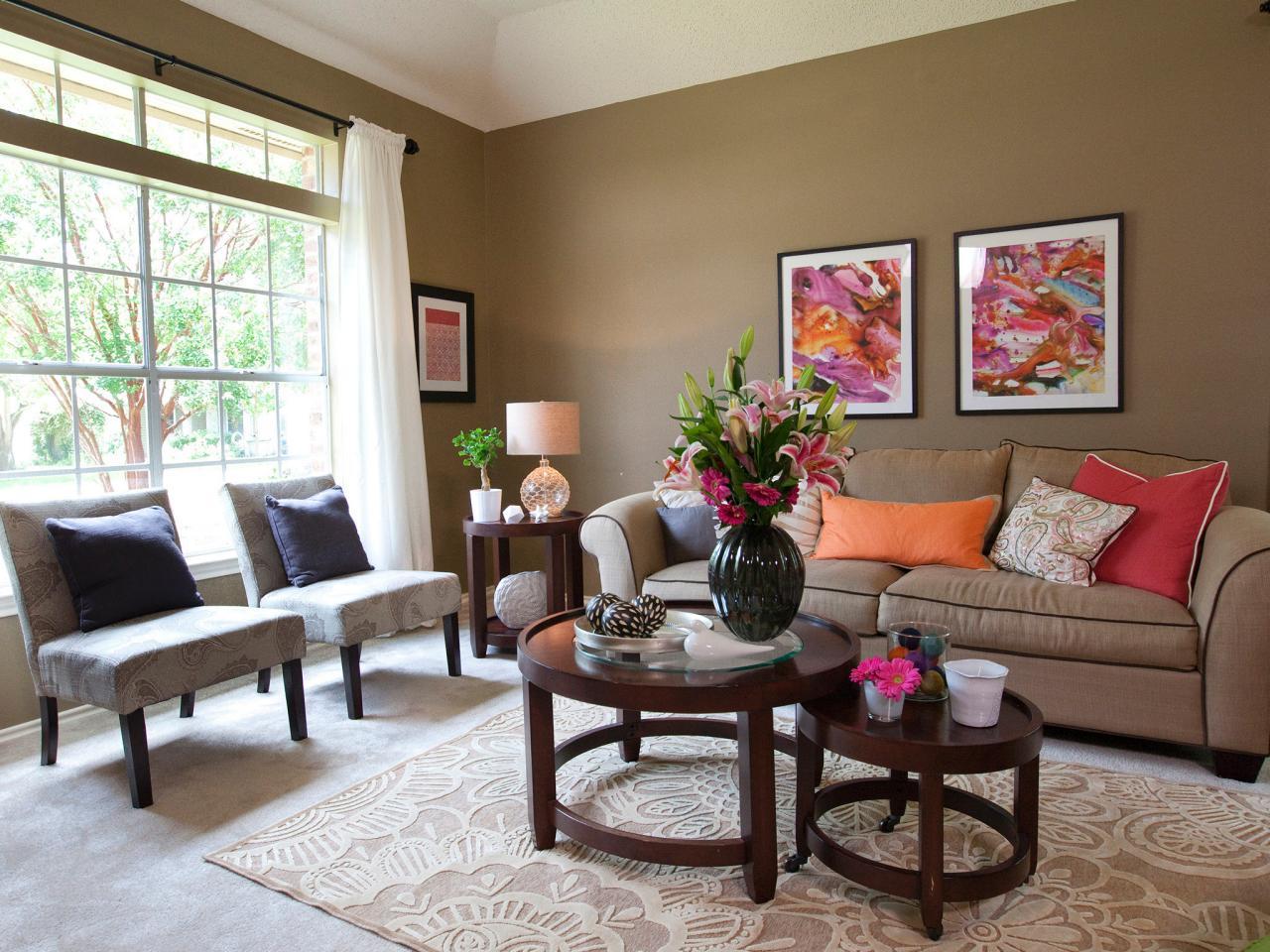 优雅休闲美式客厅 照片墙效果图