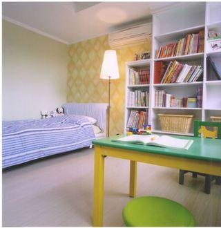 自然田园风儿童房装修设计
