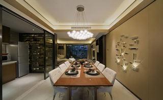 时尚现代三居餐厅装修图