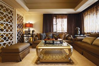 华丽古典欧式客厅沙发效果图