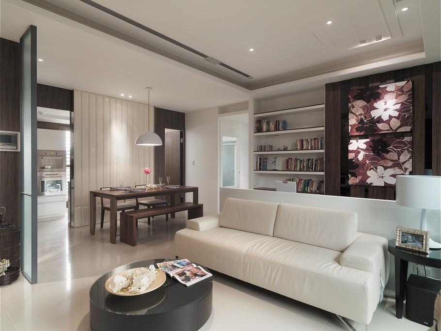 现代日式60平小户型室内装修