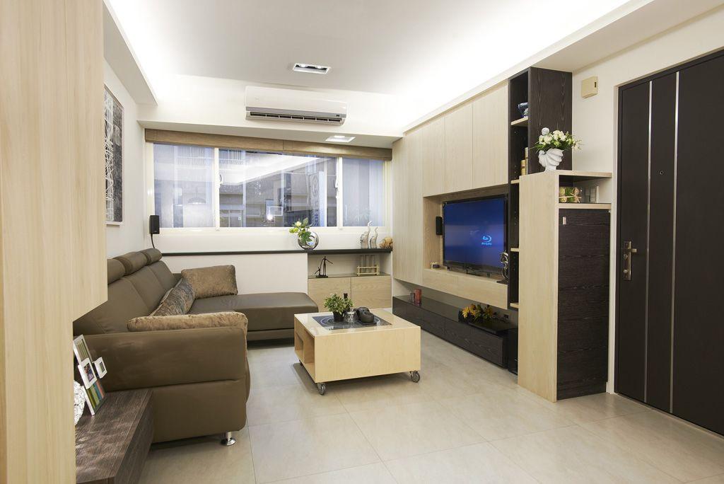 最新现代72平二居家装案例