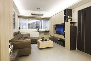 最新现代客厅电视柜设计