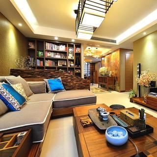 华丽复古东南亚风情 三室两厅美宅欣赏