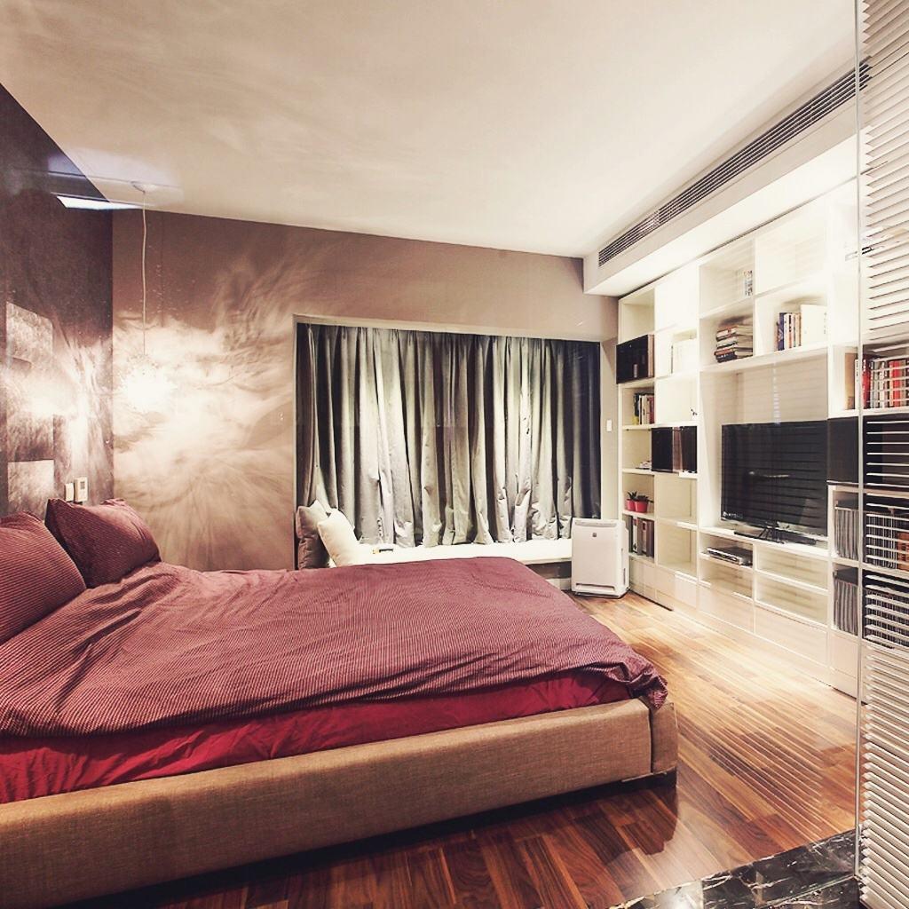 艺术与时尚混搭 卧室电视收纳柜设计