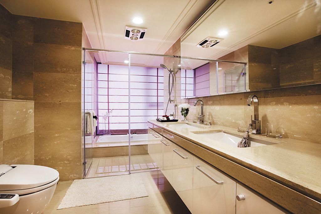 欧式风格家居卫生间设计装修图