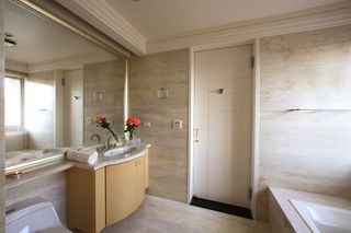 豪华现代卫生间浴室柜设计