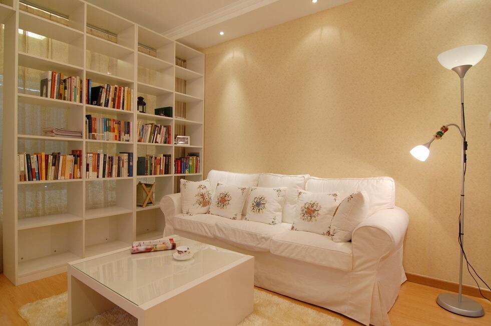 现代简约一居客厅沙发效果图