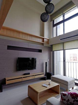 淡雅简洁日式风格复式装修
