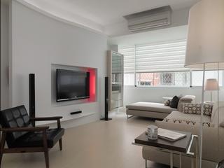簡約小戶型客廳裝修設計圖