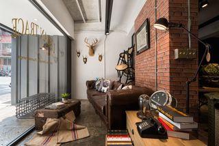 复古工业风混搭客厅装饰大全
