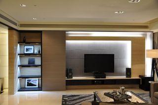 现代都市风客厅 电视背景墙欣赏