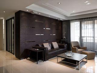 现代时尚客厅沙发背景墙设计