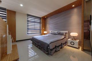 实木宜家复式卧室效果图
