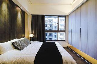 简约风格卧室窗户设计