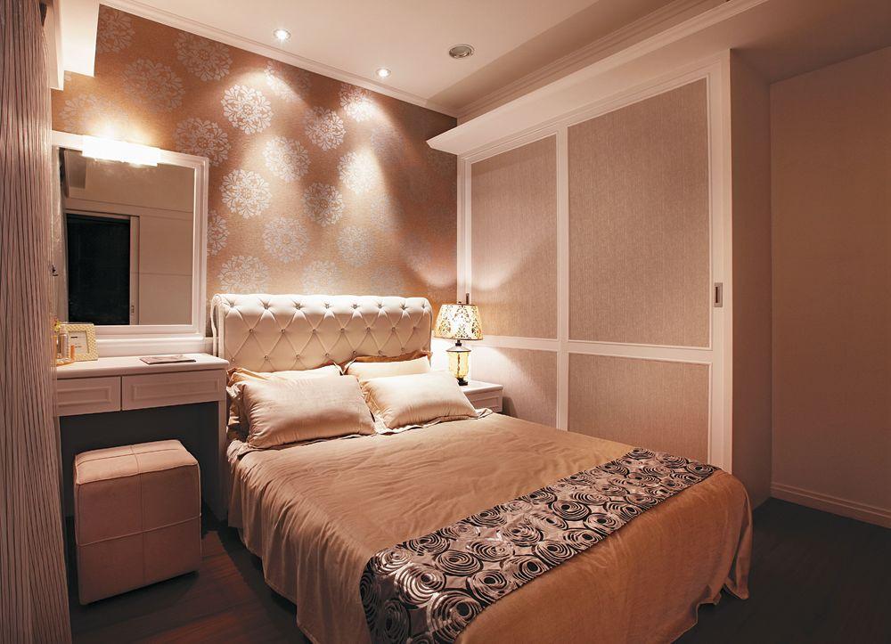 10平米新古典卧室效果图