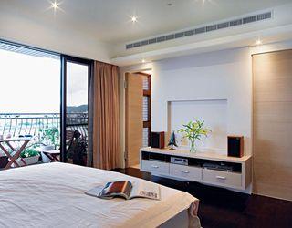 时尚现代风卧室 电视背景墙欣赏