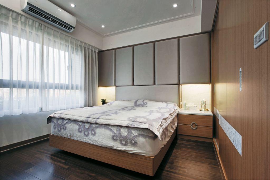 时尚现代简中式卧室装饰大全