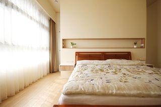 温馨舒适宜家风 卧室背景墙设计