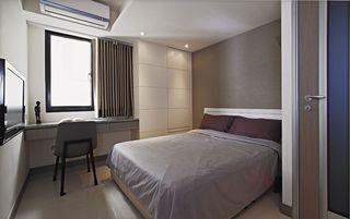 灰色系现代卧室装饰鉴赏