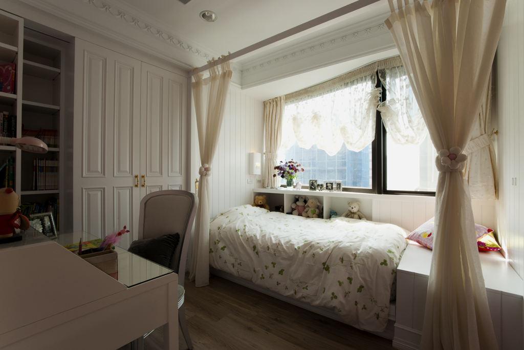 美式儿童房创意小床设计