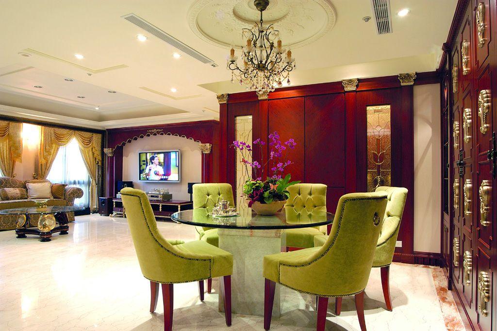 新古典风格餐厅餐椅设计