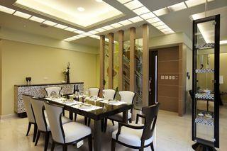简中式现代餐厅装饰欣赏
